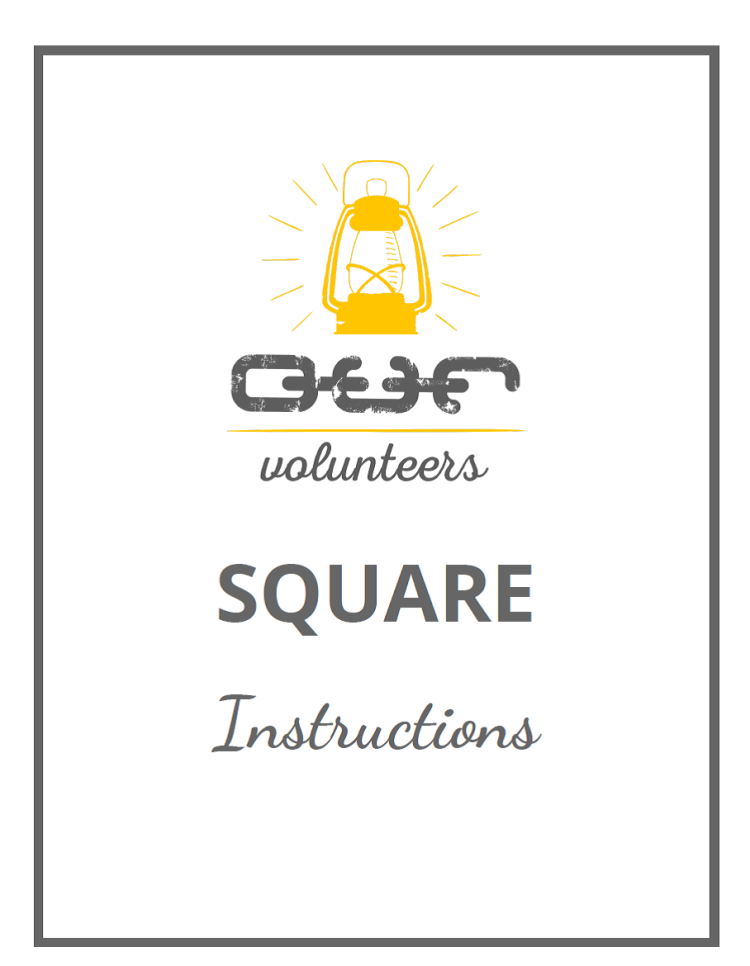 Square Instructions